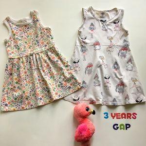 Gap Summer Dresses set 3T